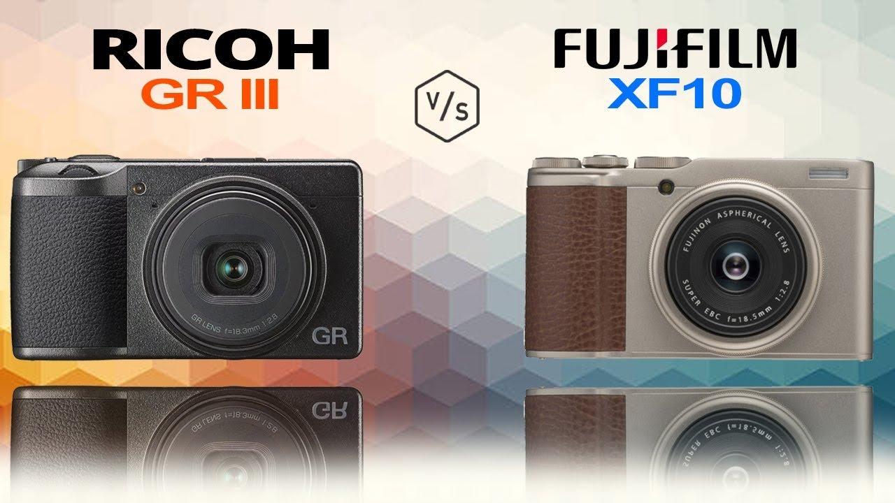RICOH GR III vs FujiFilm XF10