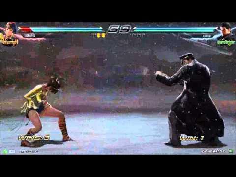 Tekken7 JOSIE RIZAL(NOBASIN) korea online battle