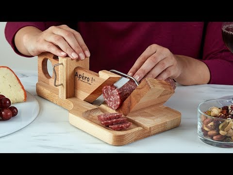So Apéro | Handcrafted Sausage & Cheese Slicer