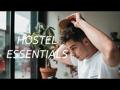 You NEED to pack these 5 things for a hostel | HOSTEL HACKS + ESSENTIALS!