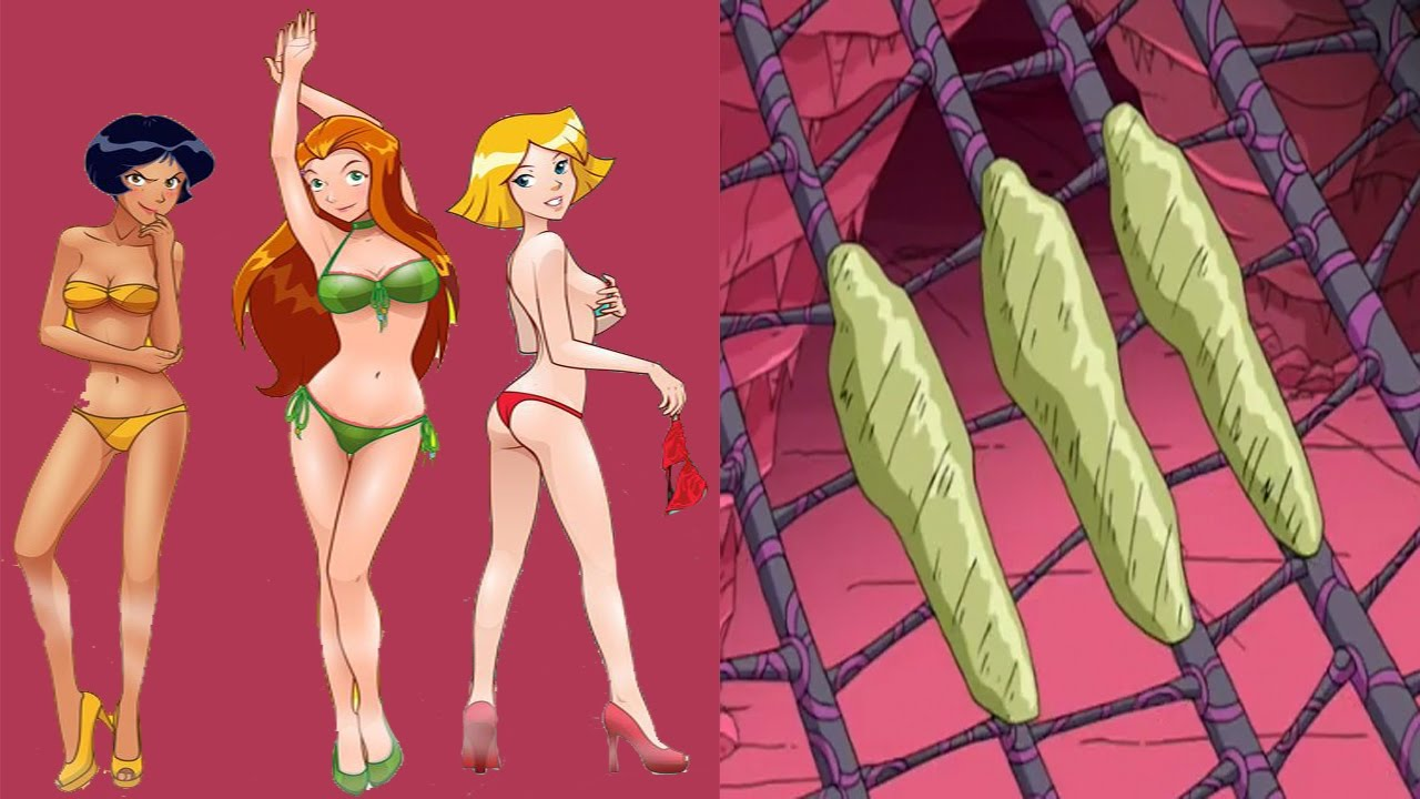 totally spies nube girls