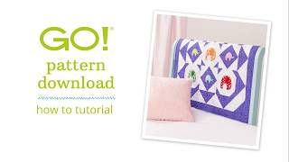 How to Download Quilt Patterns on AccuQuilt.com
