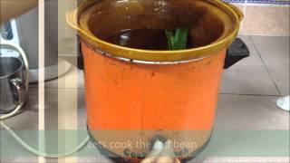 red bean soup 红豆汤 adzuki bean