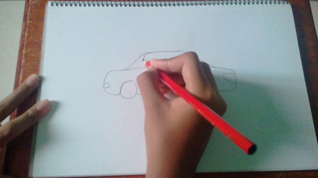 Lukisan Kereta Kebal Kartun