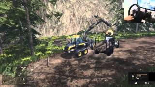FARMING SIMULATOR 2015 - SERIE DESMATAMENTO PARTE 8, KRAZ!!!