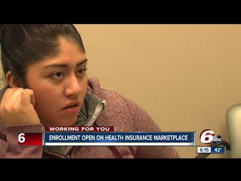 Health insurance marketplace enrollment opens for 2018
