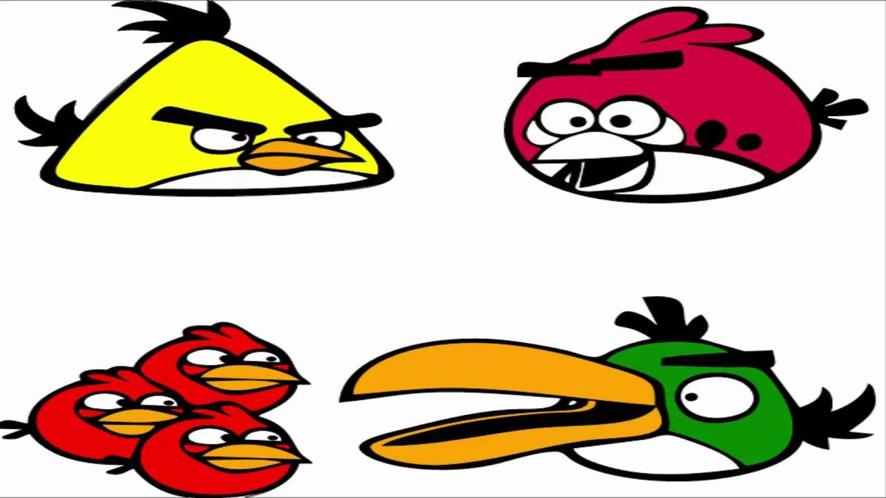 angry birds coloring pages chuck u0026 terence u0026 green bird u0026 red