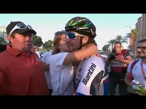 Peter Sagan vince il Mondiale di Ciclismo 2016 in Qatar