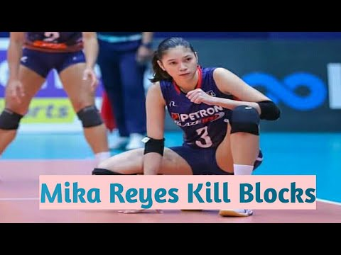 Mika Reyes Best Kill Blocks Highlights Youtube