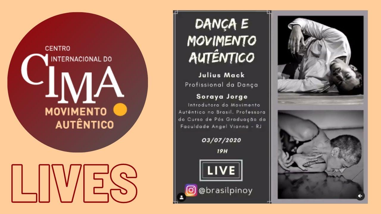 """""""Dança e Movimento Autêntico"""" Soraya Jorge e Julius Mack"""