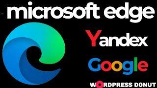 меняем поисковую систему на Google(Гугл) в Edge