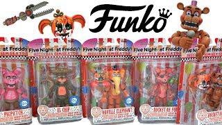 Фнаф 6 фігурок, коміксів, Розпакування та іграшок огляд + покадрової анімації