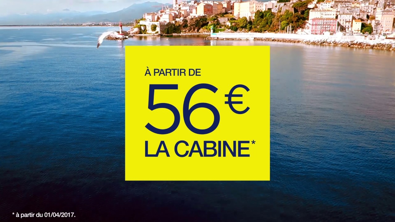 cabine confort partir de 54 sur corsica ferries youtube. Black Bedroom Furniture Sets. Home Design Ideas
