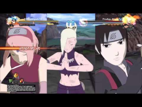 Naruto Storm 4 Player Match