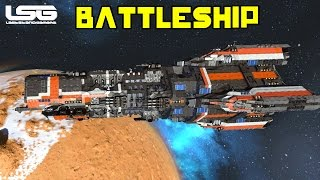 Space Engineers - Donnager (Kebab) Class Battleship