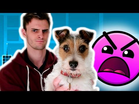 MY DOG MADE ME FAIL! | Geometry Dash #2