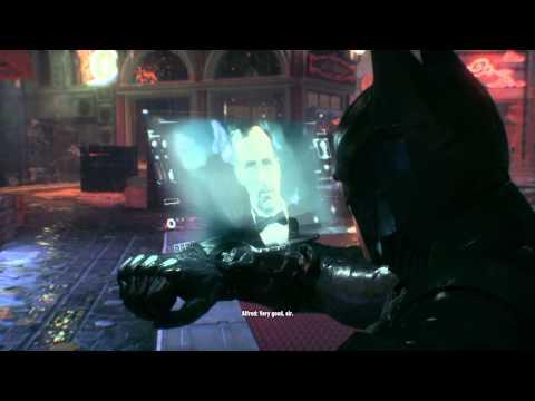 BATMAN™: ARKHAM KNIGHT Penguin stash Gotham water filtration plant