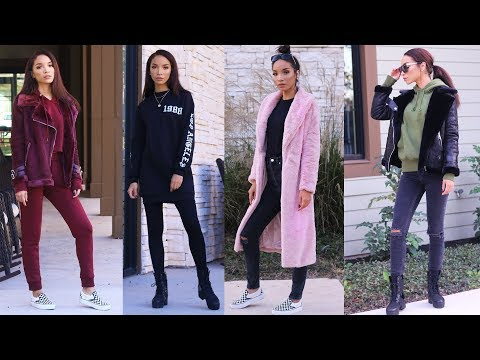 FALL/WINTER LOOKBOOK 2017 | Comfy & Casual Outfits!