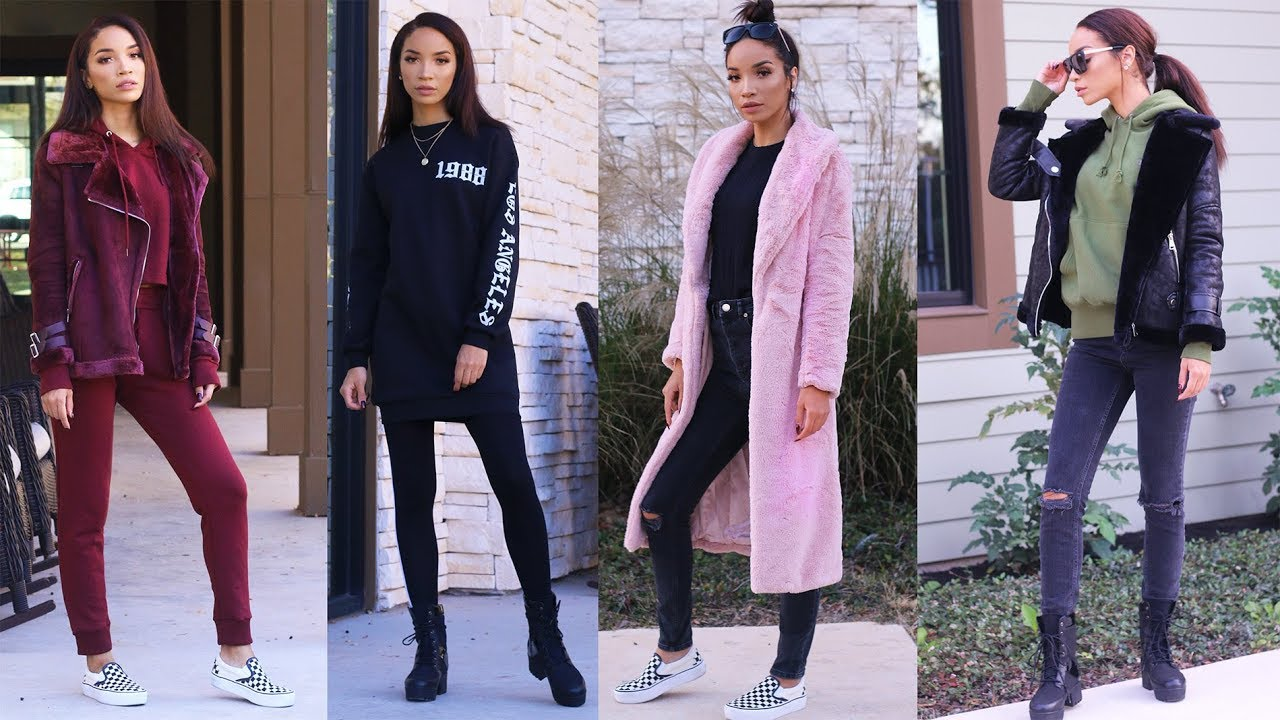 FALL/WINTER LOOKBOOK 2017 | Comfy & Casual Outfits! 6