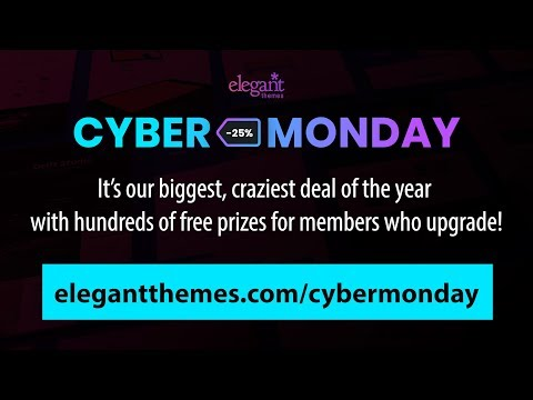 How to Use the Exclusive Cyber Monday Divi Layout Pack for Online Stores  and Bloom to Incentivize Ne