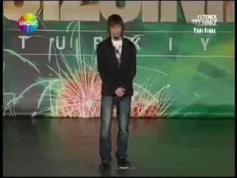 Yetenek Sizsiniz Türkiye- Yarı final -Aref Ghafouri (full izle)
