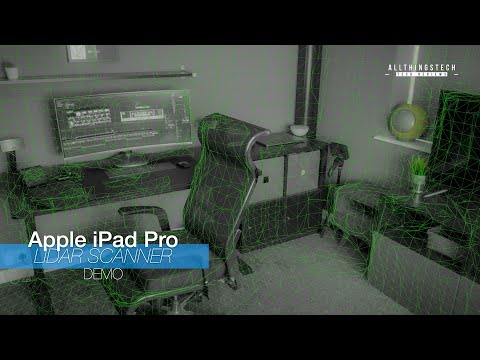 New 2020 Apple iPad Pro LiDAR Scanner in action | Try it Yourself!