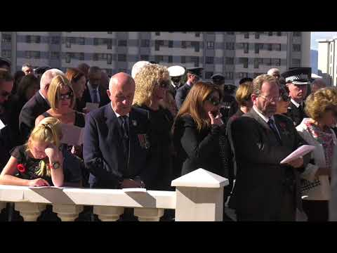 Gibraltar remembers the war dead