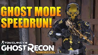 Speed Running Ghost Mode For a Subscriber!   NEW U100, LVOA-C, & MORE!   Ghost Recon Wildlands