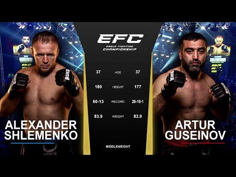 Александр Шлеменко vs Артур Гусейнов: Шторм vs Торнадо | EFC 42