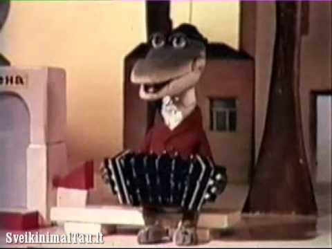 Gimtadienio sveikinimas - Krokodilas Gena [www.SveikinimaiTau.lt]