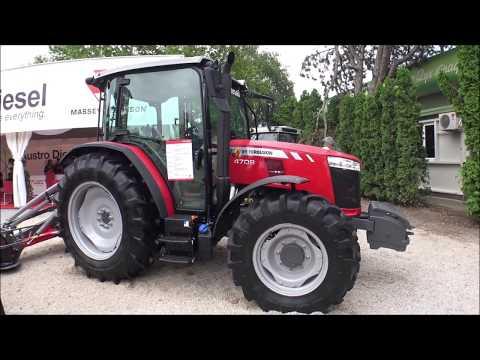 The 2020 MASSEY FERGUSON 4709 tractor