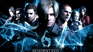 Resident Evil 6 with Japanese Voices: ALL Cutscenes (In Order)