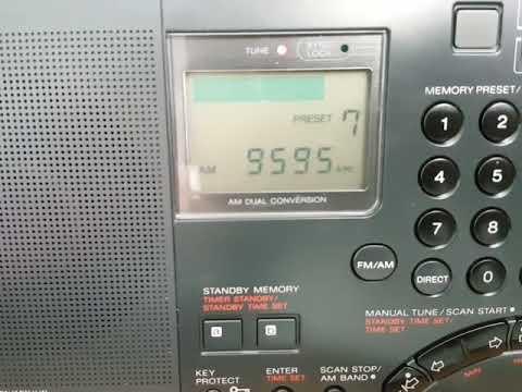 SONY ICF-SW7600GS Radio NIKKEI