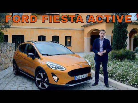 Новый Ford Fiesta Active (Форд Фиеста Актив), тест драйв! Автоцентр-TV
