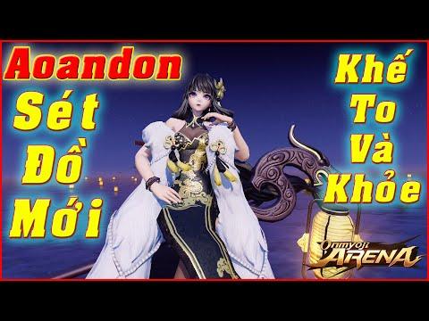 🌸Onmyoji Arena: Aoandon (Hằng) - Sét Đồ Mới Cực Hợp, Pháp Sư Đánh Tay Dame Liên Tục