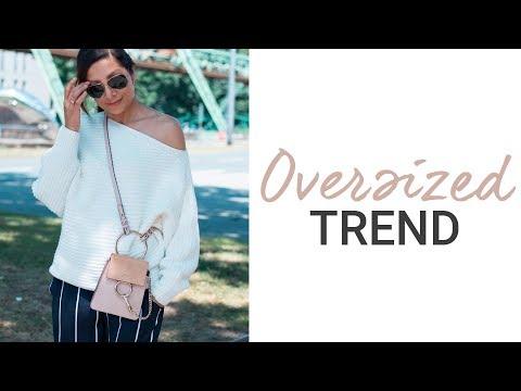 Oversized-Teile Vorteilhaft Stylen   Natashagibson