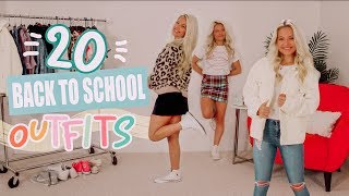 20 School Outfit Ideas!