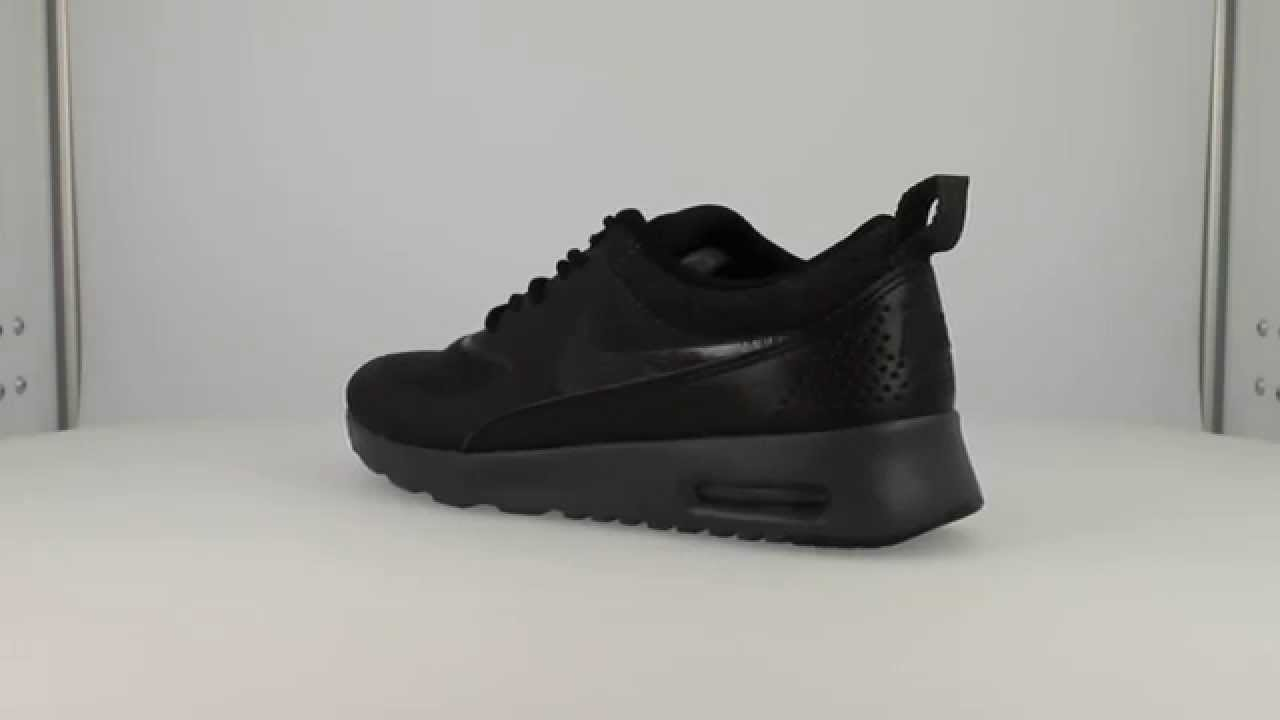 schwarze air max thea damen