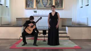 Carina Vinke & Jacob Kellermann plays F. Schubert: Der Leiermann