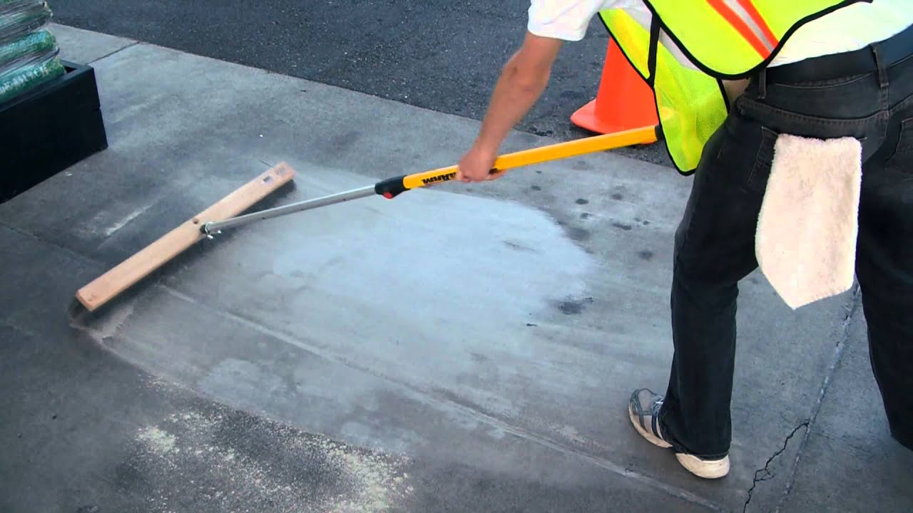 Eximo waterless concrete cleaner youtube for Environmentally friendly concrete cleaner