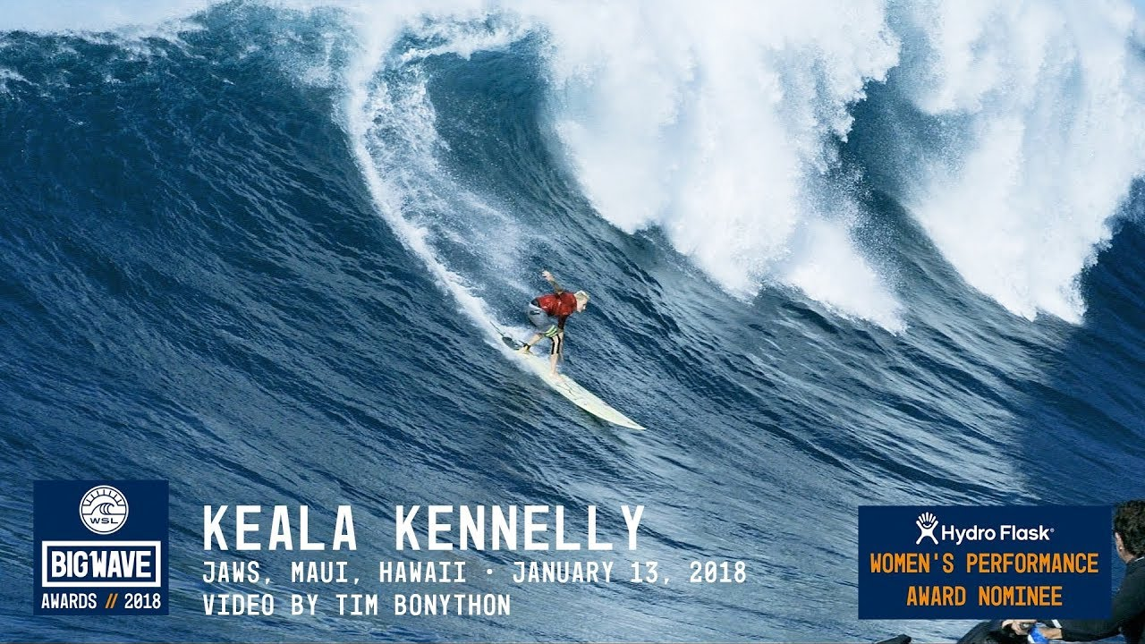 Keala Kennelly at Jaws - 2018 Hydro Flask Women\u0027s Performance