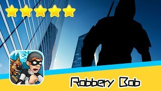 Robbery Bob™ High Rise Level 9-10 Walkthrough New Game Plus Recommend index five stars