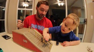 Father Son Fingerboard Time!