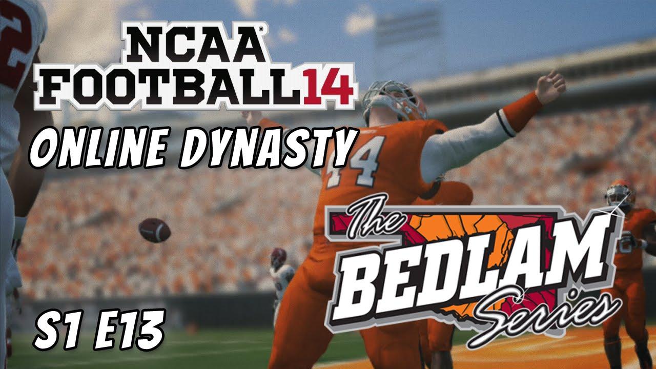 NCAA Football 14 : Online Dynasty : Oklahoma State : S1E13 ...
