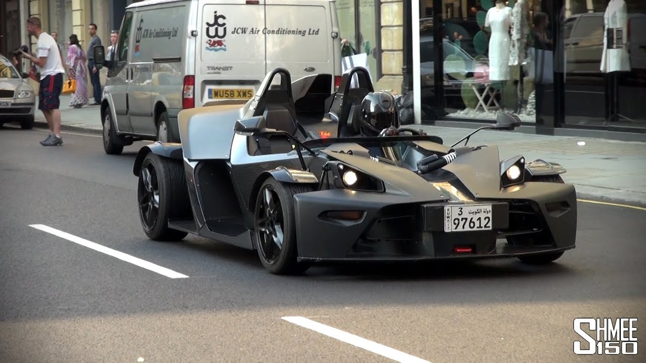 Matte Black Ktm X Bow Quot Look It S Batman Quot Youtube
