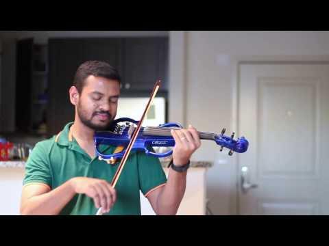 Malare Maunama | Smijith | Violin | Cover