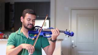 Download Hindi Video Songs - Malare Maunama - Violin Cover