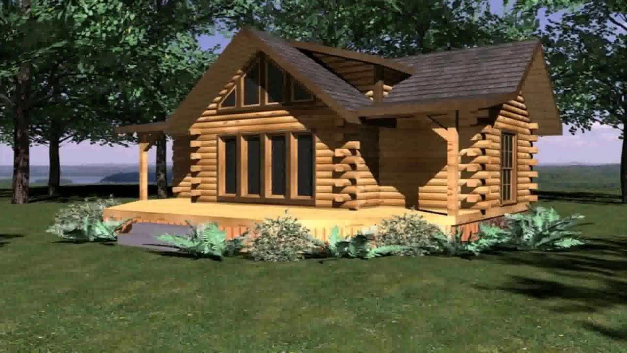 Log Cabin Floor Plans Under 1200 Sq Ft Youtube