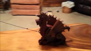 Articulated Dragon Pull Toy