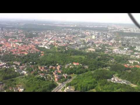Vilnius landing